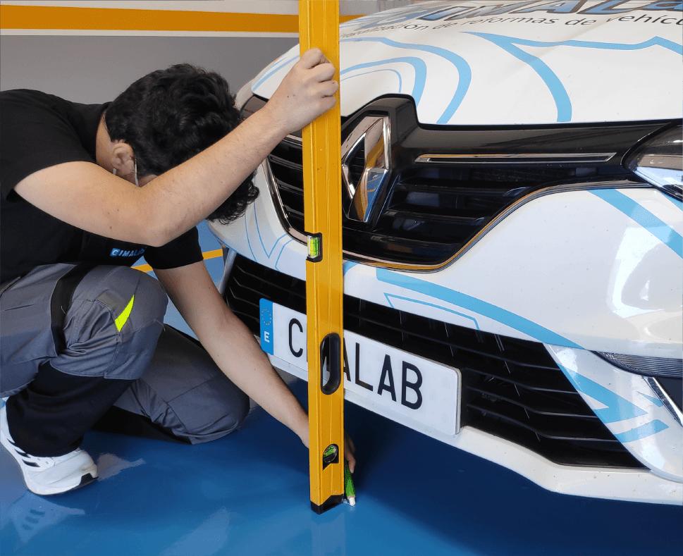 Medir dimensiones coche