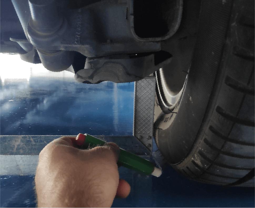 Como medir ancho de vias
